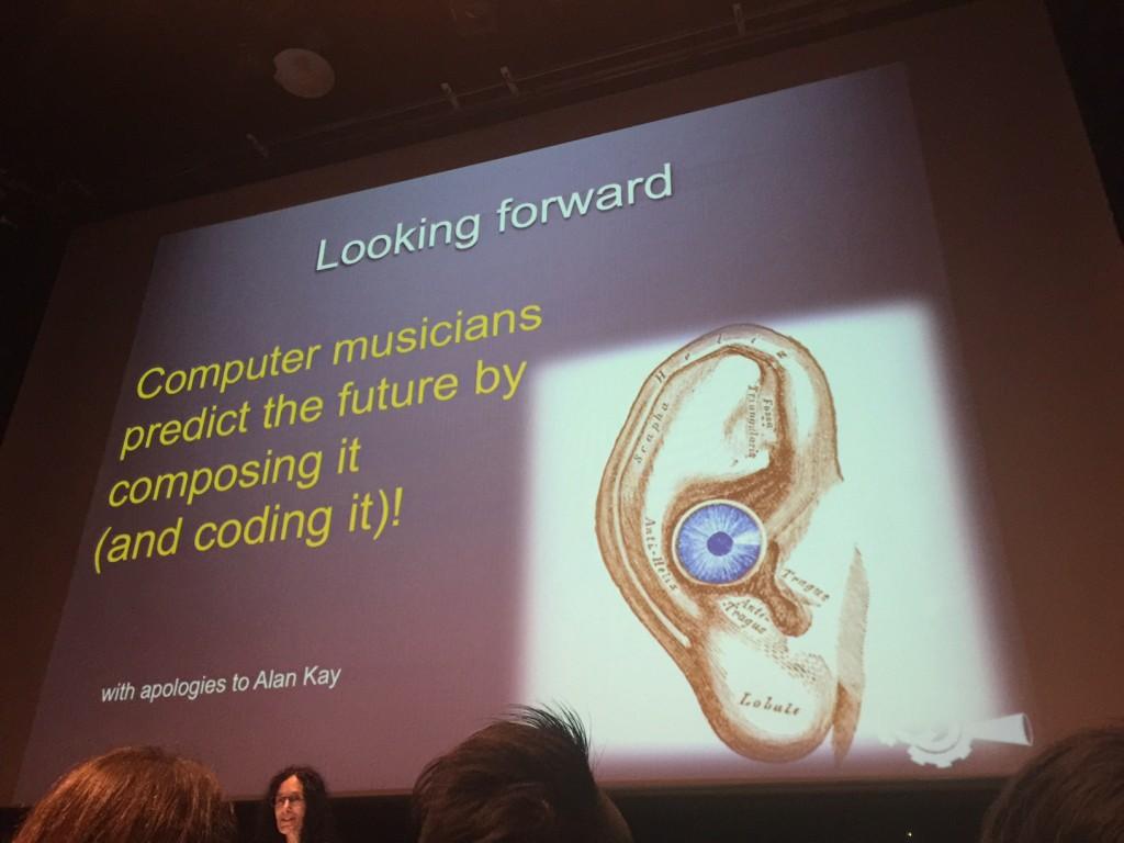 ICMC2015 keynote computer musicians predict the future
