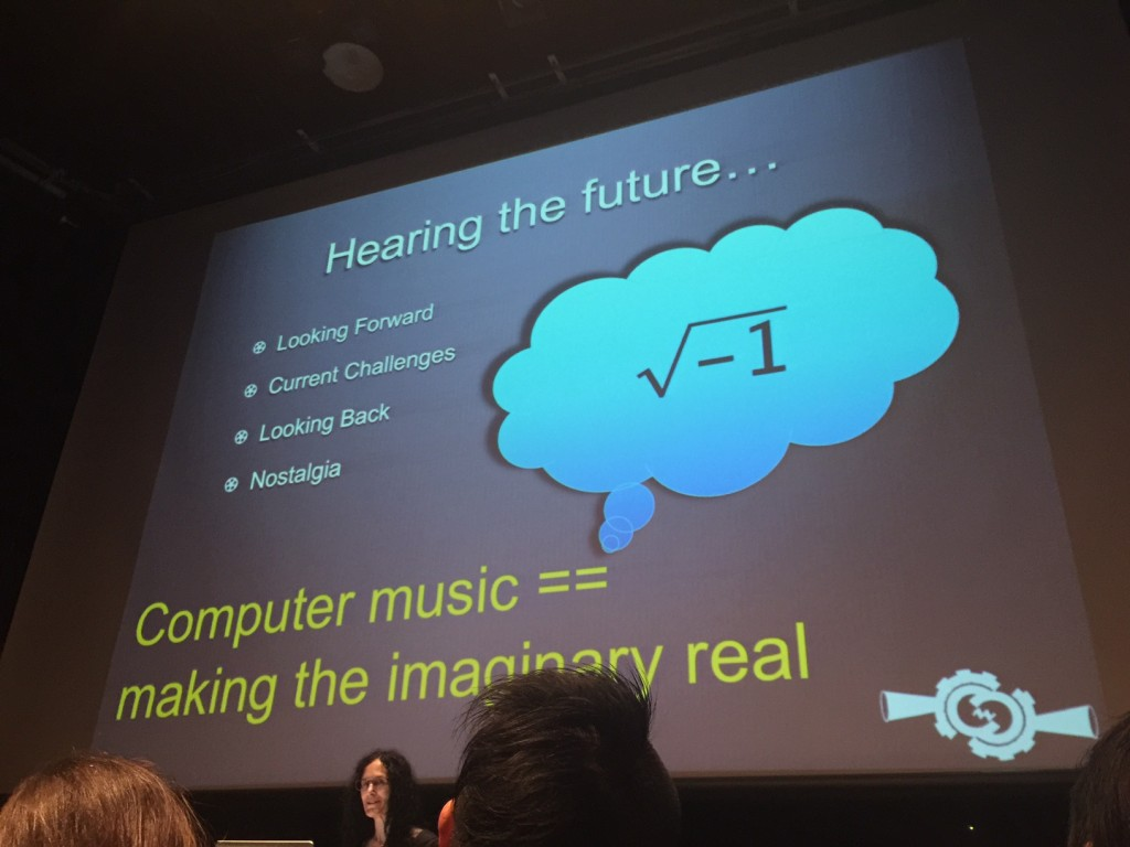 ICMC2015 keynote making imaginary real